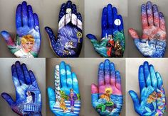 bodypainting images, image search, & inspiration to browse every day. Anime Comics, Hand Pictures, Amazing Pictures, Pictures Images, Hand Art, Hand Painting Art, Belly Painting, Love Art, Oeuvre D'art
