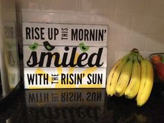 """Hand painted wood sign Bob Marley's """"Three Little Birds"""" on Etsy, $35.00:"""