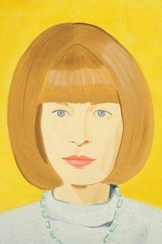 ALEX KATZ http://www.widewalls.ch/artist/alex-katz/ #figurativeart