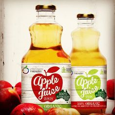 UNITED ORGANIC FARMERS – Clear or Cloudy? 100% Aussie owned, grown and made from Certified Organic Stanthorpe apples. Farmers, Preserves, Apples, The 100, The Unit, Organic, Fresh, Food, Products