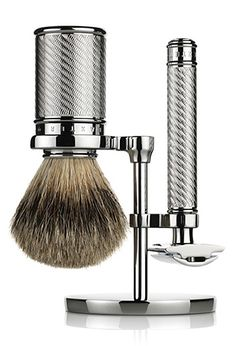Baxter of California Double-Edged Safety Razor Set at werd.com #shaving #grooming
