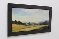 Wood Floater Frames for Paintings on Panels | Metropolitan Picture Framing