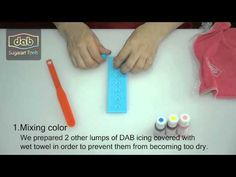 DAB - How to make a colorful Instant Lace with DAB Products
