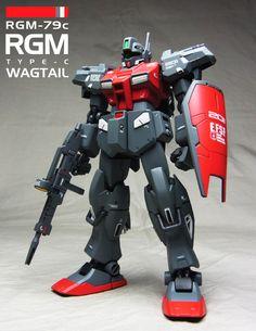 HG 1/144 RGM-79C ジム改 ワグテイル (刻に抗いし者)