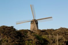 Many visitors are surprised to find two functioning windmills nestled near Golden Gate Park's western edge. Both the Dutch Windmill to the north and the Murphy Windmill in Golden Gate's southwestern corner are on the San Francisco Designated Landmark list and are great spots to snap a fun selfie.