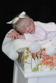 reborn baby created by Michelle Haddon from Itsy Bitsy Bubs Nursery Australia