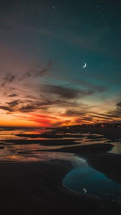 aesthetic iphone wallpaper phone wallpapers beach in the night - Night Sky Wallpaper, Sunset Wallpaper, Iphone Background Wallpaper, Landscape Wallpaper, Scenery Wallpaper, Wallpaper Ideas, Mobile Wallpaper, Aesthetic Backgrounds, Aesthetic Iphone Wallpaper