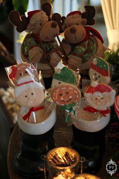 Mesa de Natal de Doces para crianças by Patricia Junqueira www.patriciajunqueira.com.br