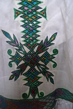 Cross burst from Ethiopian Dress