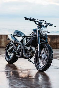 One by one, piece by piece, this TransScrambler has taken the form of raw elegance. Much like a fast tracked vision of a caterpillar evolving into a black Butterfly, Deus Camperdown builder Jeremy Tagand, tore the... More