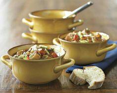 Farmhouse double handled bowls