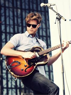 Wesley Schultz of The Lumineers at Coachella