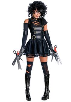 Can I please be the female Edward Scissorhands for Halloween?
