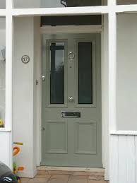 Front Door Colors Farrow And Ball Pigeon 32 Ideas Victorian Front Doors, Grey Front Doors, Beautiful Front Doors, Front Door Colors, Back Doors, Door Paint Colors, Exterior Paint Colors, House Front Door, Front Entrances