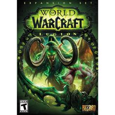 World of Warcraft Legion Standard Edition PC. The great enemy of Azeroth is back, and soon the kingdoms of the Horde and the Alliance will be consumed in a storm of fel fire! World Of Warcraft Legion, Warlords Of Draenor, Activision Blizzard, The Warlocks, Game Codes, Night Elf, Demon Hunter, Shopping World, Ancient Artifacts