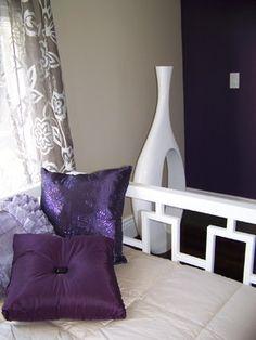 Purple accent colours