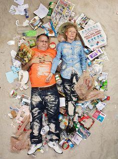 Juxtapoz Magazine - Gregg Segal: 7 Days of Garbage