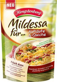Mildessa für ... Aufläufe & Quiche - Sauerkraut von Hengstenberg