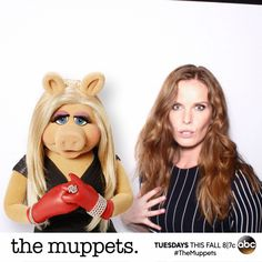 Hanging with @ABCNetwork characters at