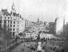 Porto - Vielas e lavadouros demolidos há 100 anos para dar lugar aos Aliados - Portugal - DN