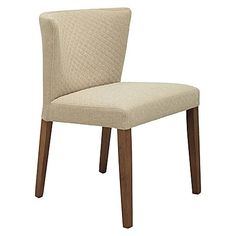 Behold the classically cosy and quilted appeal of the quality Rianne Natural Dining Chair (Set of 2) from Iniko in your home.