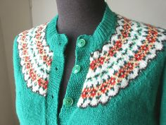 Bright Fair Isle pattern inspiration