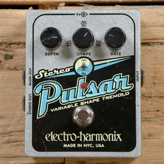 Electro-Harmonix Stereo Pulsar Tremolo USED