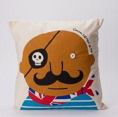 Seb 'C'mon sit next to me' cushion