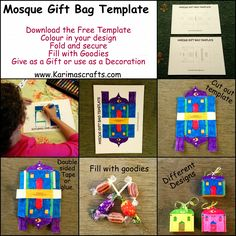 99 Creative Mosque Projects - Mosque Gift Bag Template