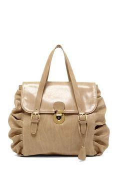 RED Valentino Pintuck Shoulder Bag