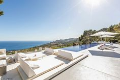 A view to kill for: Kate Hudson stayed in this posh rental in Ibiza that she found on Booking.com for $80,000 a week