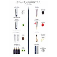 #beautycounter 's high performing products, you can count on them to work and go a long way. Here's a little cheat sheet for reference. Beautycounter.com/karenrinehammer