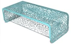 awesome coffee table #turquoise