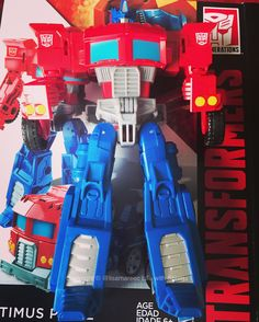 Optimus Prime - Cyber battalion small sized figure with limited release (only found in China, South America at time of posting). Purchased in Shanghai July 2016