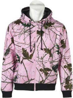 Women's Ladies Pink Camo Zip Up Hoodie Sweatshirt  #Clothing #Jacket #Sweatshirt #Hoodie