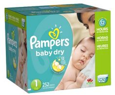 Get Pampers Baby Dry Diapers for as low as $0.09 per diaper, shipped!
