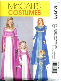 RENAISSANCE DRESS PATTERNS Medieval Dress by DesignRewindFashions