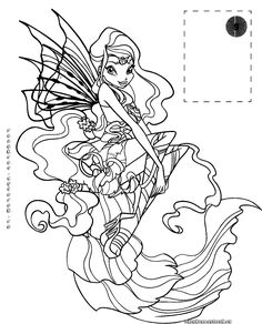 Winx Club Coloring Pages Bloom Quote Colouring Books Printable