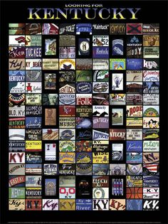 State Art - Kentucky Prints and Posters