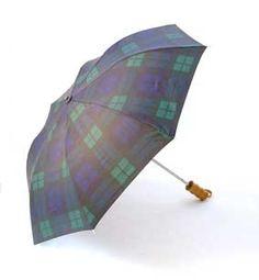 $20.00 Black Watch Tartan Umbrella by Scotweb Tartan Mill