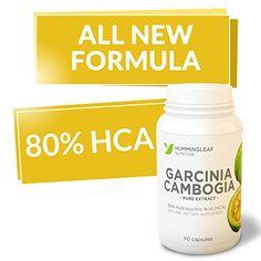 ALL NEW FORMULA! 80% HCA Garcinia Cam... $29.95