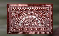 Worli Painting, Buddha Painting, Fabric Painting, Tribal Pattern Art, Tribal Art, Madhubani Art, Madhubani Painting, Indian Art Paintings, Wall Paintings