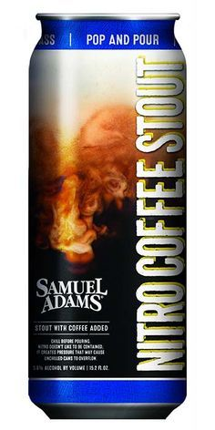 A coffee beer that closely resembles cold-brewed coffee, click here to read our tasting review of Samuel Adams Nitro Coffee Stout.