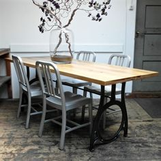 Industrial Dining Table | Harvest and Co.