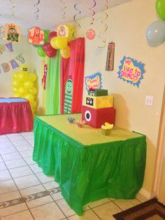 Yo Gabba Gabba party ideas