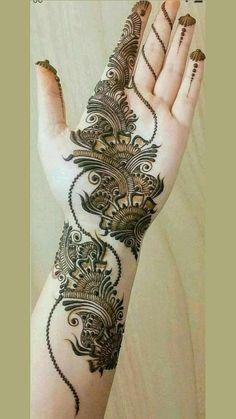 Pretty Henna Designs, Latest Arabic Mehndi Designs, Floral Henna Designs, Beginner Henna Designs, Full Hand Mehndi Designs, Stylish Mehndi Designs, Mehndi Designs 2018, Henna Art Designs, Mehndi Designs For Girls