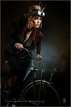 Bicycle steampunk style