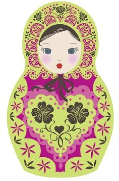 Printable Matryoshka Russian Doll