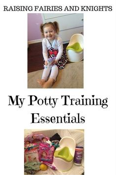 My Potty Training Essentials - Potty Training is a great milestone in any toddler and parents life, here are my essentials for potty training my daughter.