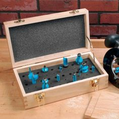 Small Router Bit Case. Holiday gifts between $20 and $50